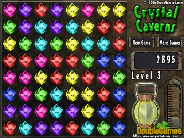 Free Download Crystal Caverns Screenshot 3