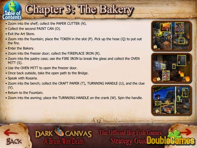 Free Download Dark Canvas: A Brush With Death Strategy Guide Screenshot 3