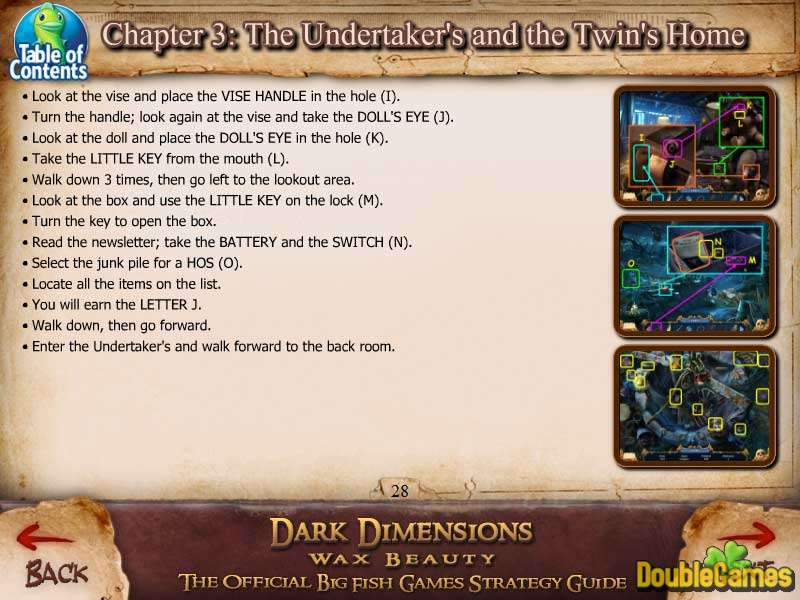 Free Download Dark Dimensions: Wax Beauty Strategy Guide Screenshot 1