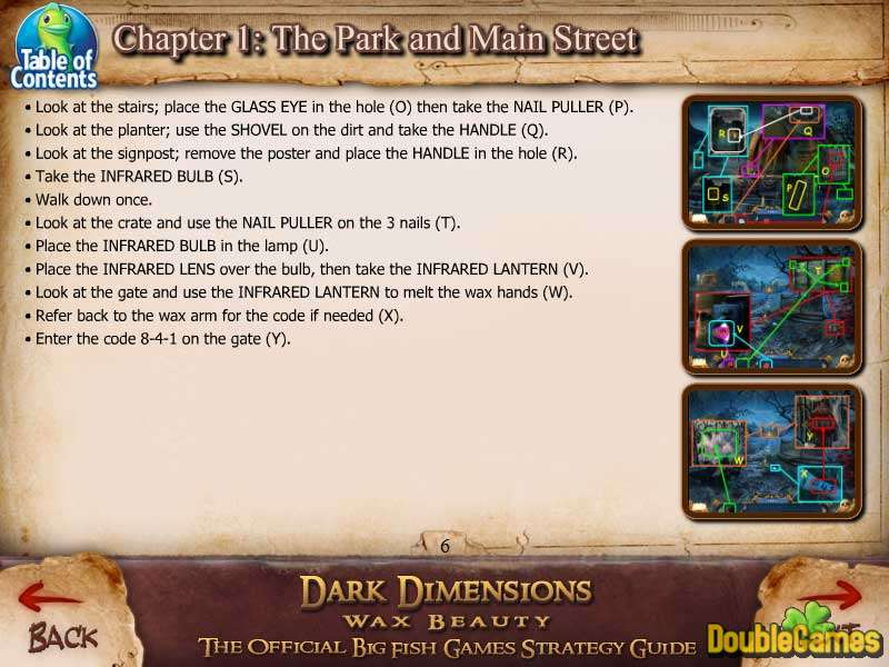 Free Download Dark Dimensions: Wax Beauty Strategy Guide Screenshot 3