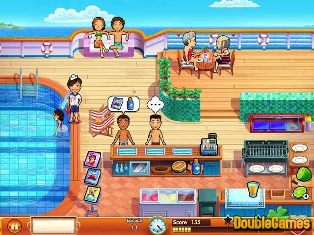 Free Download Delicious - Emily's Honeymoon Cruise Screenshot 2