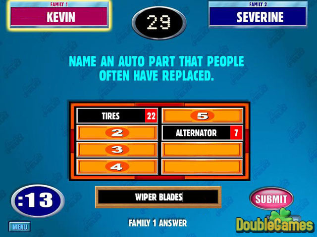 Free Download Double Play: Family Feud and Family Feud II Screenshot 1