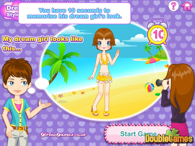 Free Download Dream Date Dressup Girls Style Screenshot 3