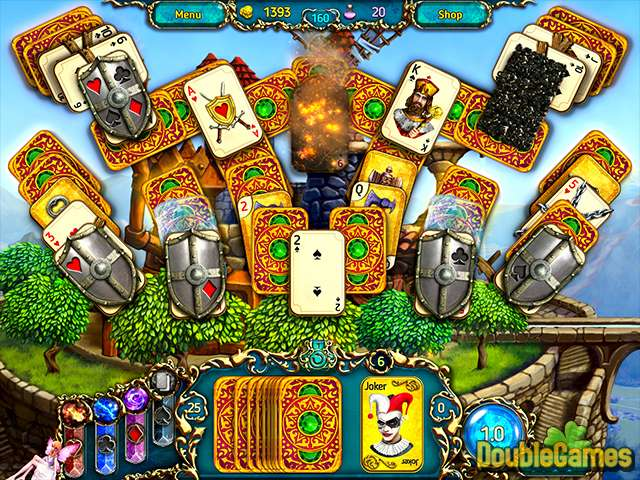 Free Download Dreamland Solitaire: Dragon's Fury Screenshot 2