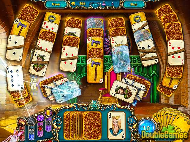 Free Download Dreamland Solitaire Screenshot 1