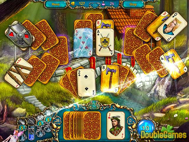 Free Download Dreamland Solitaire Screenshot 2