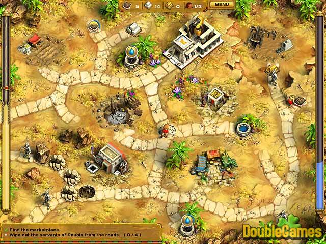 Free Download Egypt: Secret of five Gods Screenshot 3