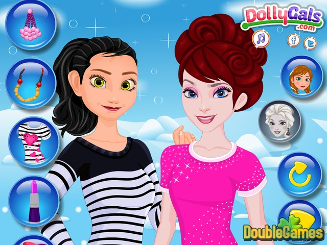 Free Download Frozen Selfie Make Up Screenshot 2