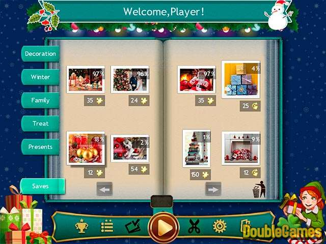 Free Download Holiday Jigsaw Christmas 4 Screenshot 2