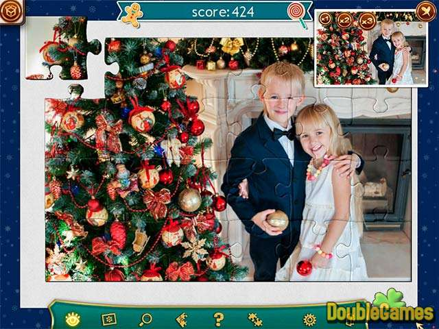 Free Download Holiday Jigsaw Christmas 4 Screenshot 3