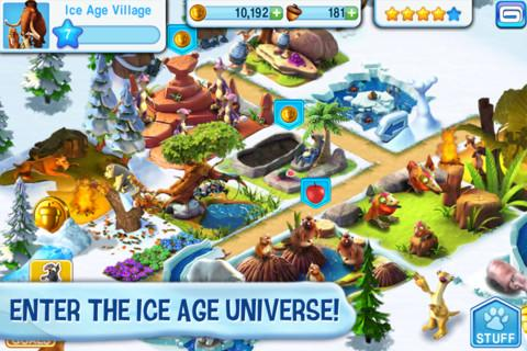 Free Download Ice Age Village Screenshot 1