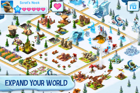 Free Download Ice Age Village Screenshot 2