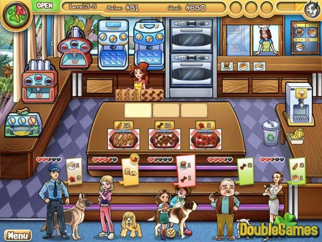 Free Download Jessica's Bow Wow Bistro Screenshot 1