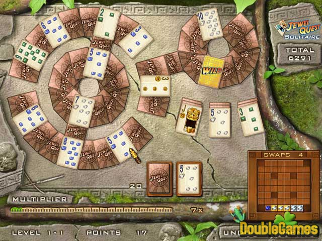 Free Download Jewel Quest Solitaire Screenshot 1