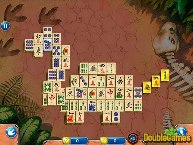Free Download Jurassic Mahjong Screenshot 1