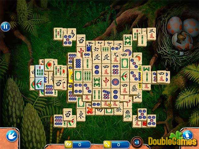 Free Download Jurassic Mahjong Screenshot 3