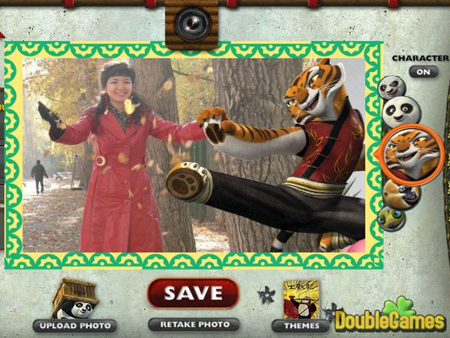 Free Download Kung Fu Panda 2 Photo Booth Screenshot 2