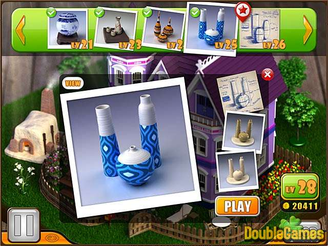 Free Download Little Pottery House Screenshot 3