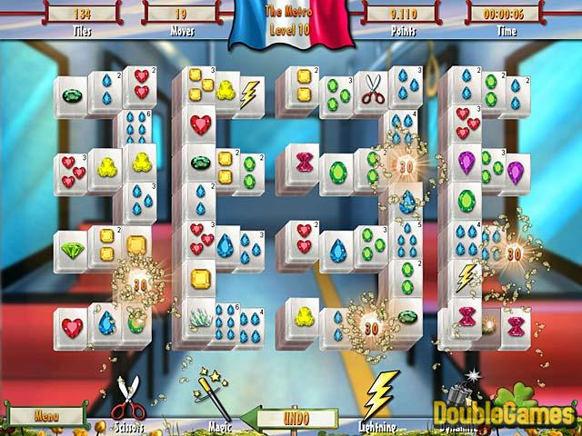 Free Download Paris Mahjong Screenshot 2