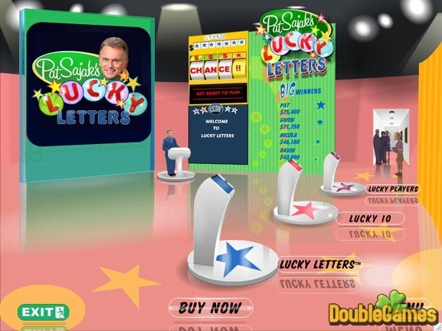 Free Download Pat Sajak's Lucky Letters Screenshot 1