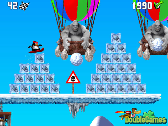 Free Download Penguin versus Yeti Screenshot 1