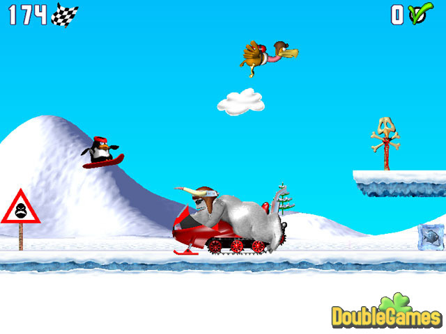 Free Download Penguin versus Yeti Screenshot 2