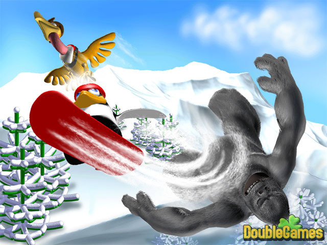 Free Download Penguin versus Yeti Screenshot 3