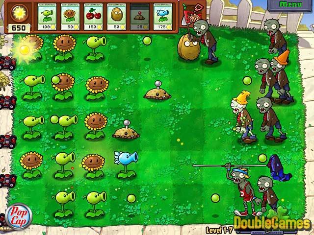 Bezpłatne pobieranie plants vs zombies zrzutu ekranu 3