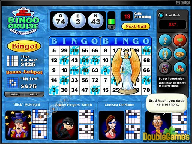 Free Download Saints and Sinners Bingo Screenshot 1