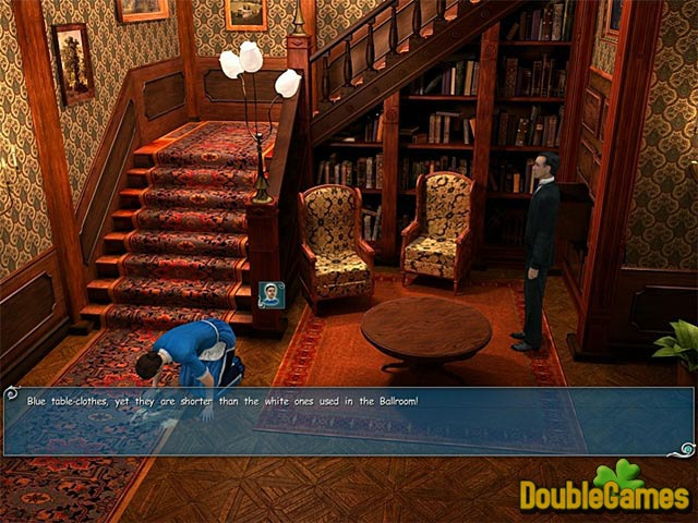 Free Download Sherlock Holmes - The Secret of the Silver Earring Screenshot 3