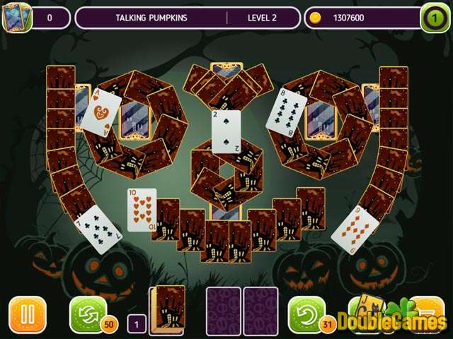 Free Download Solitaire Halloween Story Screenshot 1