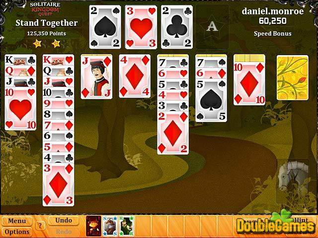 Free Download Solitaire Kingdom Quest Screenshot 1