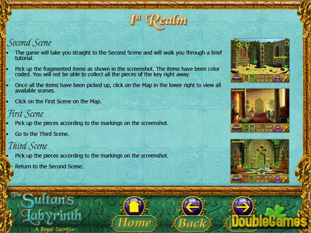 Free Download The Sultan's Labyrinth: A Royal Sacrifice Strategy Guide Screenshot 1