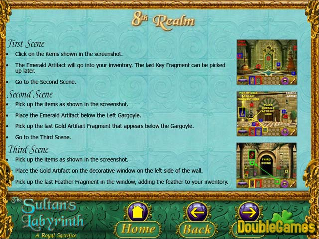 Free Download The Sultan's Labyrinth: A Royal Sacrifice Strategy Guide Screenshot 3