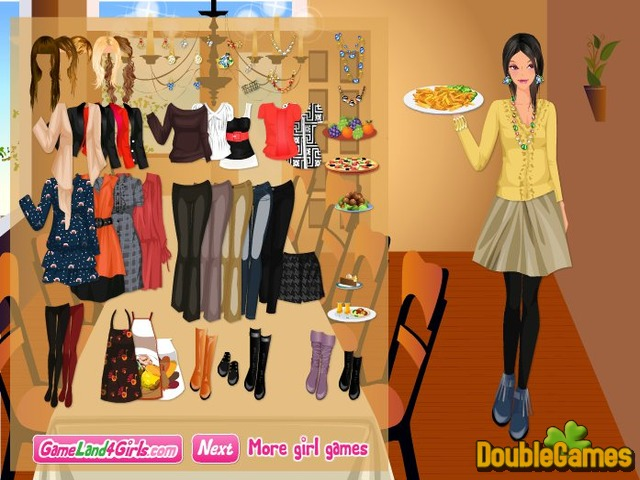 Free Download Thanksgiving Dinner Dress Up and Decor Screenshot 1