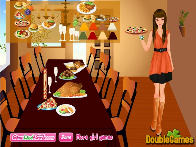Free Download Thanksgiving Dinner Dress Up and Decor Screenshot 2