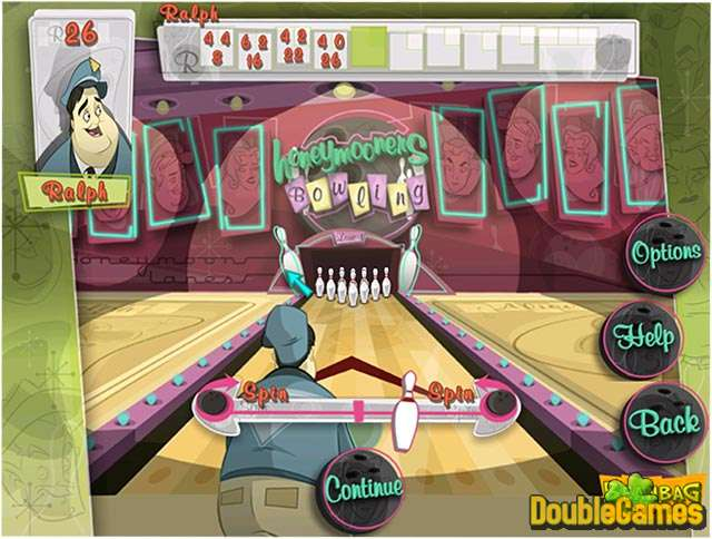 Free Download The Honeymooners Bowling Screenshot 1