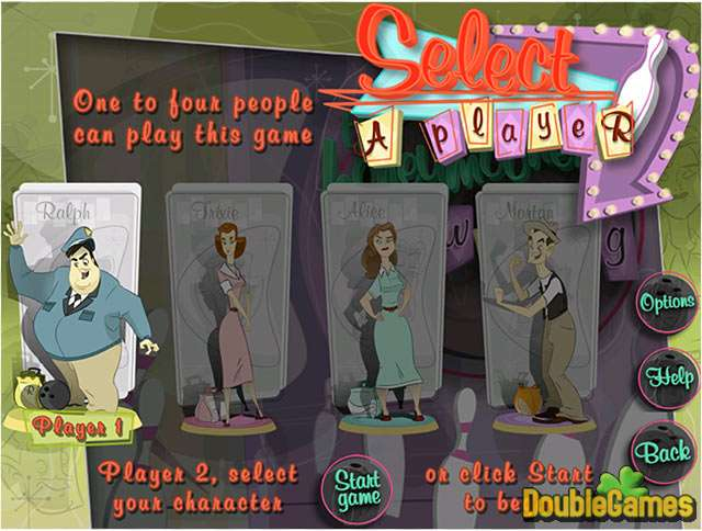 Free Download The Honeymooners Bowling Screenshot 2