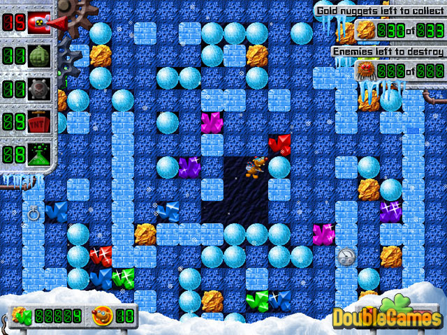 Free Download Treasure Mole: Winter Vacations Screenshot 2