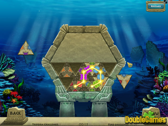 Free Download Triazzle Island Screenshot 2