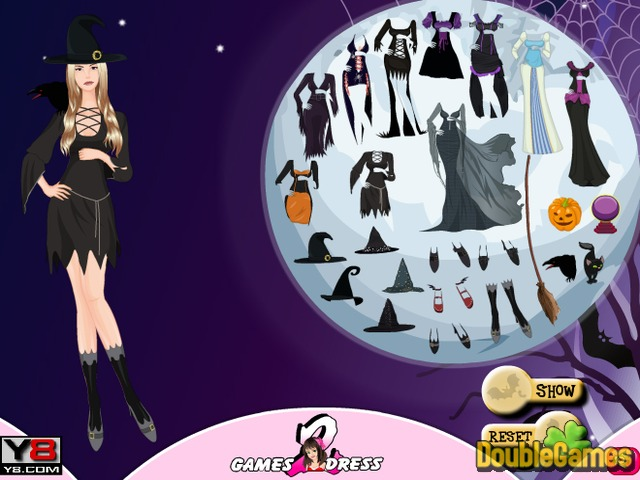 Free Download Witch Hallows Dress Up Screenshot 1
