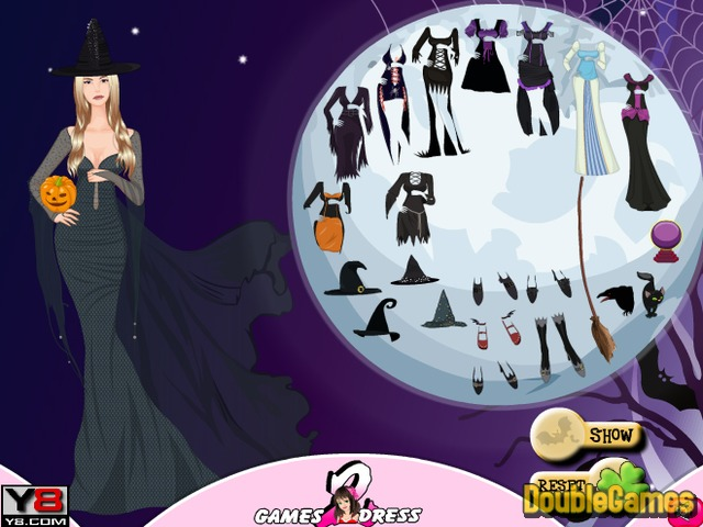 Free Download Witch Hallows Dress Up Screenshot 2