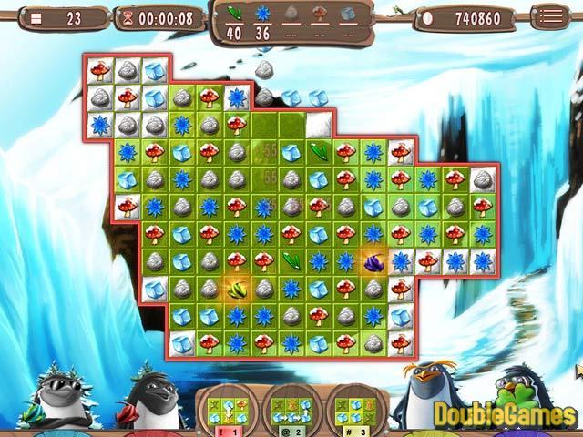 Bezpłatne pobieranie yeti quest crazy penguins zrzutu ekranu 3