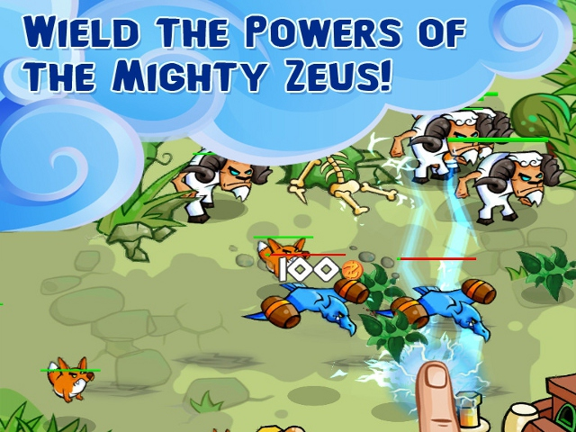 Free Download Zeus Defense Screenshot 2